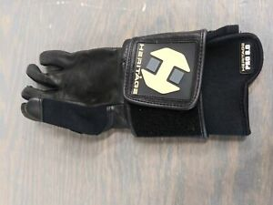 Heritage Gloves Pro 8.0 Bull Riding Glove-Black-Size 7-Left Hand - Used - Accept