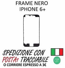 FRAME LCD PER IPHONE 6 PLUS NERO CON BIADESIVO 3M
