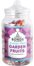 BONDS SUGAR FREE - GARDEN FRUITS - 2KG JAR, TRADITIONAL BOILED SWEETS, GIFT,XMAS