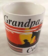 "Grandpa 4"" Sunset in Colorado Mug Cup"
