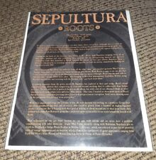 Press Release kit bio Metal Band Sepultura Members Roots Bloody Roots Territory