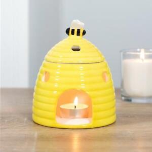 Yellow Bee Hive Ceramic Wax Melt & Oil Burner
