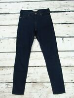 Topshop Leigh High Waist Skinny Stretch Jeans Dark Blue W26 to fit L30