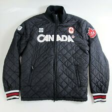 Vancouver 2010 Olympics Team Canada Quilted Jacket Mens sz XXL HBC The Bay