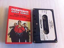 Vintage CIGANYDALOK Gipsy Songs Gypsy Istvan Horvath Kalman Voros cassette tape