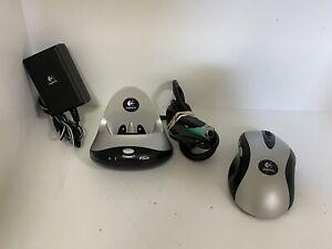 Logitech MX700 Cordless Optical Mouse MX 700 M-RY81 w/ Dock Cradle — TESTED