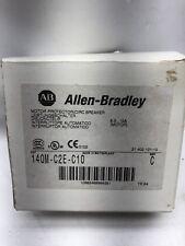 NEW ALLEN-BRADLEY 140M-C2E-C10 MOTOR PROTECTOR / CIRCUIT BREAKER 6.3-10AMPS NIB