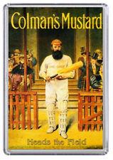 Colman's Mustard Vintage / Retro Advert Poster Fridge Magnet