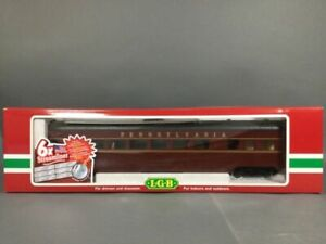LGB 32590 Pennsylvania G Gauge Streamlined Observation Passenger Car