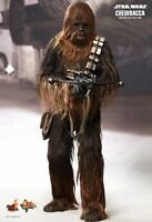 DHL 1/6 HOT TOYS STAR WARS IV A NEW HOPE MMS262 CHEWBACCA ACTION FIGURE