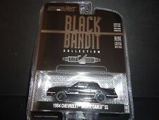 Greenlight Chevrolet Monte Carlo SS 1984 Black and Bandit 1/64 27790