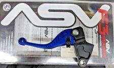 ASV CRF314 Shorty Lever Blue for Kawasaki 250