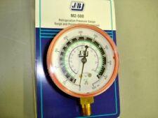 JB 0-500 PSI Combination refrigerant Red Gauge 2-1/2
