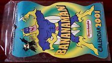 BEANO BOOKS BANANAMAN 2001 UNUSED CALENDAR EXCELLENT DANDY