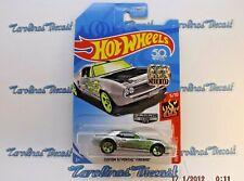 Custom '67 Pontiac Firebird * ZAMAC * 2018 Hot Wheels Factory Set * J3