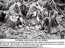 Japanese Soldiers Captured by Australians  WWII Dispatch Photo News Service
