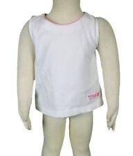 Jacadi Mädchen cadrer weiß Baumwolle Tank Top mit Stickerei Größe 2 Jahre Nwt $22
