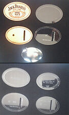 OVAL BUCKLE TEMPLATE SET - TO MAKE LEATHER PIECES FOR TANDYS OVAL BLANK BUCKLES