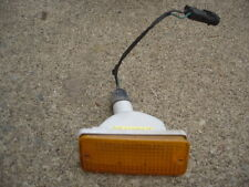 1982 NISSAN STANZA  BUMPER MARKER LIGHT L LEFT DRIVER SIDE HATCHBACK