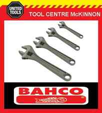 BAHCO 80 SERIES 4pce PHOSPHATED ADJUSTABLE WRENCH SHIFTER SET – 6, 8, 10 & 12""