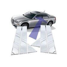 02-06 Infiniti Q45 polished stainless steel pillar posts