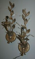 FINE ART LAMPS eautiful Wall Sconce Rustic Brass Bronze Lighting & Shades