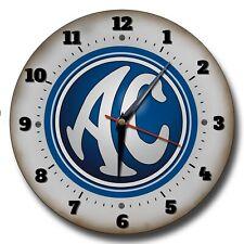 AC Cobra Blau 250MM Durchmesser Metall Wanduhr Garage Uhr. Klassische Autos