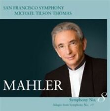 Mahler: Symphony No. 8; Adagio from Symphony No. 10 Super Audio CD (CD, Aug-2009, 2 Discs, San Francisco Symphony (Record Labe)