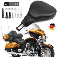 Motorrad Verstellbarer Fahrerrückenlehne Rückenlehne für Harley Davidson 98-08