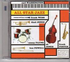 (EU495) Earl Washington, All Star Jazz (Hallmark's 2013 Version) - 2013 CD