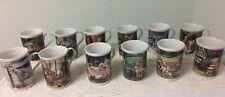 12 Hummel Porcelain Mugs Jan - Dec
