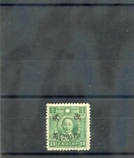 China Sc 533 d20(Sg 696d)(*)Vf Ngai 1943 20/13c Blue Green, Wmk, Kansu, $12