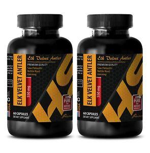 Energy vitamin drink - ELK VELVET ANTLER 550MG 2B - elk antler small