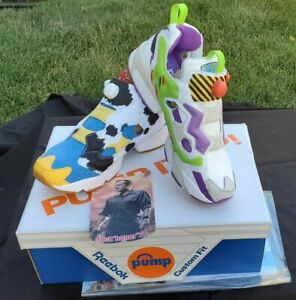 BAIT Toy Story Reebok Instapump Fury OG Woody Buzz NEW IN THE BOX Size 10 Shoes