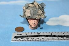 DID DRAGON IN DREAMS 1:6TH SCALE WW2 BRITISH 1ST AIRBORNE HELMET WITH NET ROY