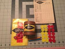 Vintage YAHTZEE 1967 E.S. Lowe Co. Inc. No. 950 Parts Dice Score pad Instruction