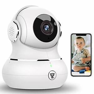 WLAN IP Kamera Littlelf Überwachungskamera WiFi Hundekamera mit 360° Schwenkb...