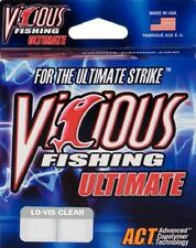 Vicious Ultimate Lo-Vis Clear 14 lb 330 yards