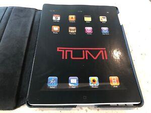 Brand New NWT $95 100% Authentic * TUMI * Ballistic Snap iPAD 2 Case Black