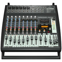 BEHRINGER EUROPOWER PMP500 500W Powered 12-Channel Mixer KLARK TEKNIK + Warranty