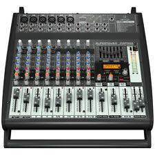 BEHRINGER EUROPOWER PMP500 500W Powered 12-Channel Mixer KLARK TEKNIK + Warranty