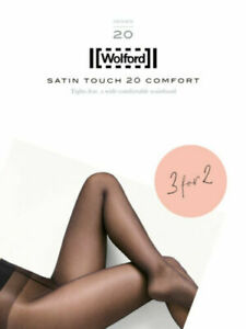 Wolford Satin Touch 20 Comfort Tights 3 for 2, Multipack