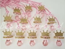 Princess Pacifier Necklace Baby Shower Favors Prizes Game It's a Girl Decoration