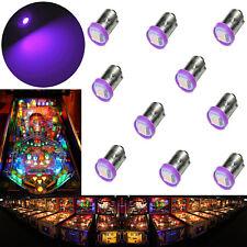 10x #1893 #44 #47 #1847 BA9S 1 SMD LED Pinball Machine Light Bulb Purple 6.3V US
