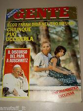 GENTE=1979/25=FARAH DIBA=MARIA CALLAS=MAURO BRONCHI=MICKIE ALLEN=MARIO TOBINO=