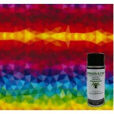 Hydrographic Dip Kit 6oz Activator 1m Hydrographic Film Rainbow Kaleidoscope