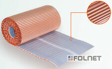Kupfer Kaminband 300mm x 5m Wandanschlussband Kaminanschlussband Anti Moos Stop