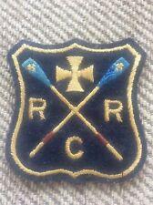 Vintage Ryde Rowing Club Embroidered Blazer Badge Isle of Wight Memorabilia