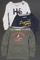 NWT! HOLLISTER by Abercrombie Womens Sweatshirt Pullover Jumper XS,S