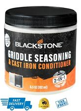 Blackstone Griddle Seasoning And Cast Iron Conditioner Well Protected 2-in-1 NEW